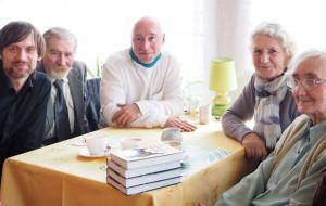 Od lewej: Dominik Szmajda, Ryszard Majewski, Łukasz Wierzbicki, Zofia Rubnikowicz, Jadwiga Majewska